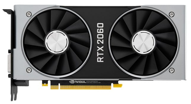GeForce RTX 2060 Front