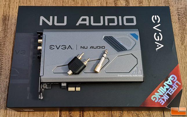 EVGA NU Audio Card