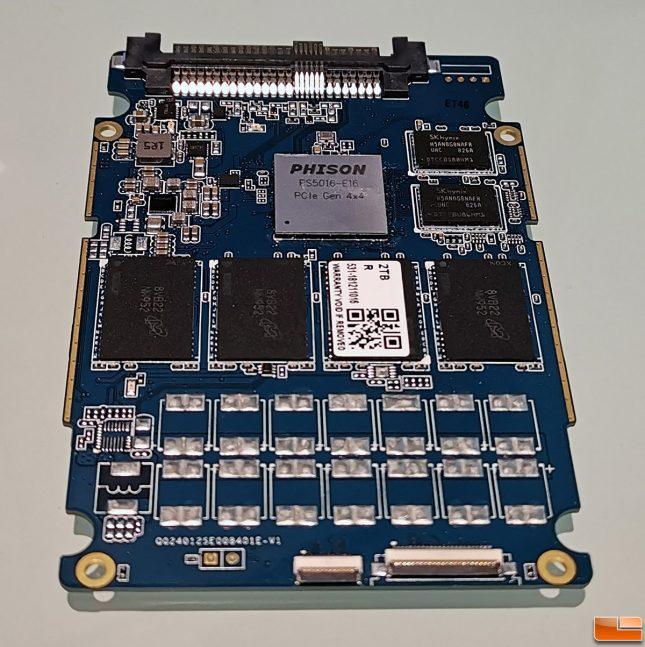 Phison E16 2TB SSD Prototype