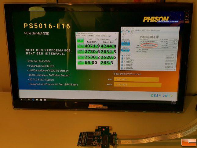 Phison E16 SSD Controller Demo