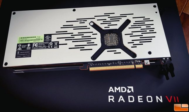 Radeon Vii Backplate