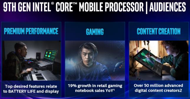 9th Gen Intel Core Processors