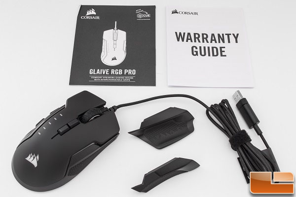 Corsair Glaive RGB Pro Gaming Mouse Review - Legit ReviewsCorsair