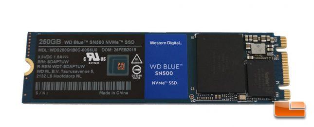 WD Blue SN500 250GB Drive