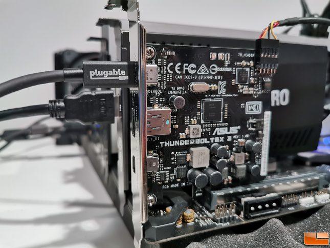 Thunderbolt 3 Plugable 0.8m Cable