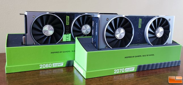 NVIDIA GeForce RTX 2060 SUPER and 2070 SUPER