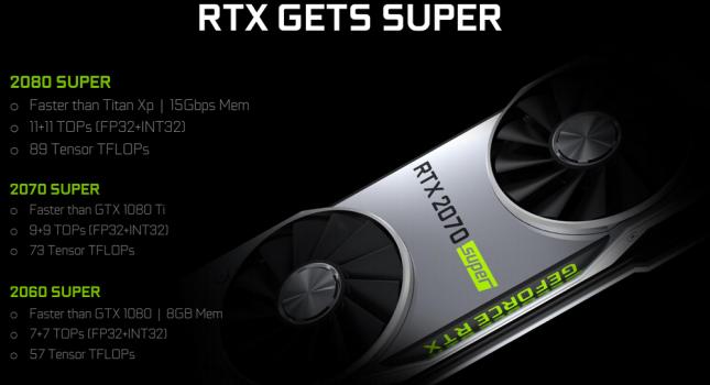 RTX Gets Super